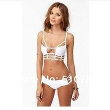 MANYIBandage swimsuit body swimwear women vintage high waist bikini bathing suit for women high waisted swimwear women plus size