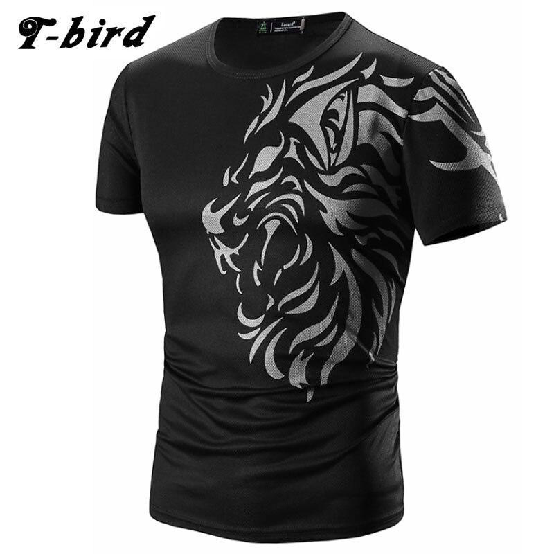 T Shirt Men 2016 Brand Short Sleeve Hip Hop Male Palace T Shirts Mens Tattoo Printing