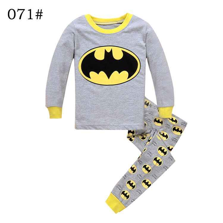 cf0e01b1e8 Autumn Winter Cotton 2-7 Yrs Boys Pajamas Set Children Children Pajamas  Sleepwear Baby Kids Pajama