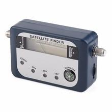SF-07 Satellite Finder Signal Identifier Satellite Receiver TV Reception System Strength Meter Detector Pointer With Compass