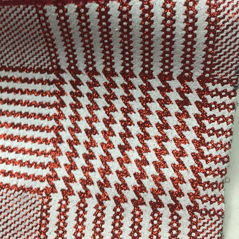 Lychee Life A4 Colorufl Plaid PU Leather Fabric High Quality Synthetic DIY Sewing Material for Handmade Craft
