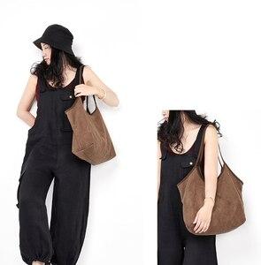 Image 5 - Французская шикарная тканевая сумка с ручками сверху, 2020, Женская Повседневная Сумка тоут, Женская вместительная сумка большого размера, Женская Повседневная сумка для подгузников, сумка шоппер