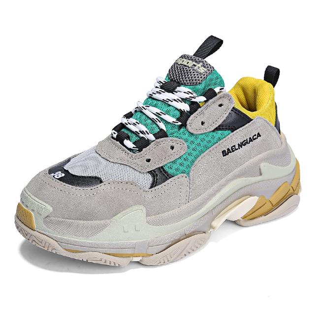 793aa68b8364e Unisex Running Shoes for Men   Women Balenciaga Sneakers Women Outdoor Mesh  Sport Shoes Sneakers Men Zapatillas Hombre Deportiva