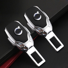 1 шт. высокое качество цинковый сплав автомобильный Зажим для ремня безопасности удлинитель ремни безопасности разъем для Volvo C30 S60 S80 V40 VAH VHD XC60 XC70 XC90