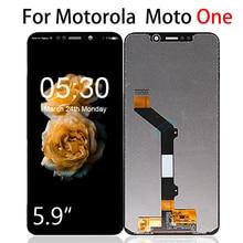 Оригинальный ЖК-дисплей для Motorola Мото 5.9 с сенсорным экраном дигитайзер Ассамблеи XT1941-1 XT1941-3 XT1941-4 Замена