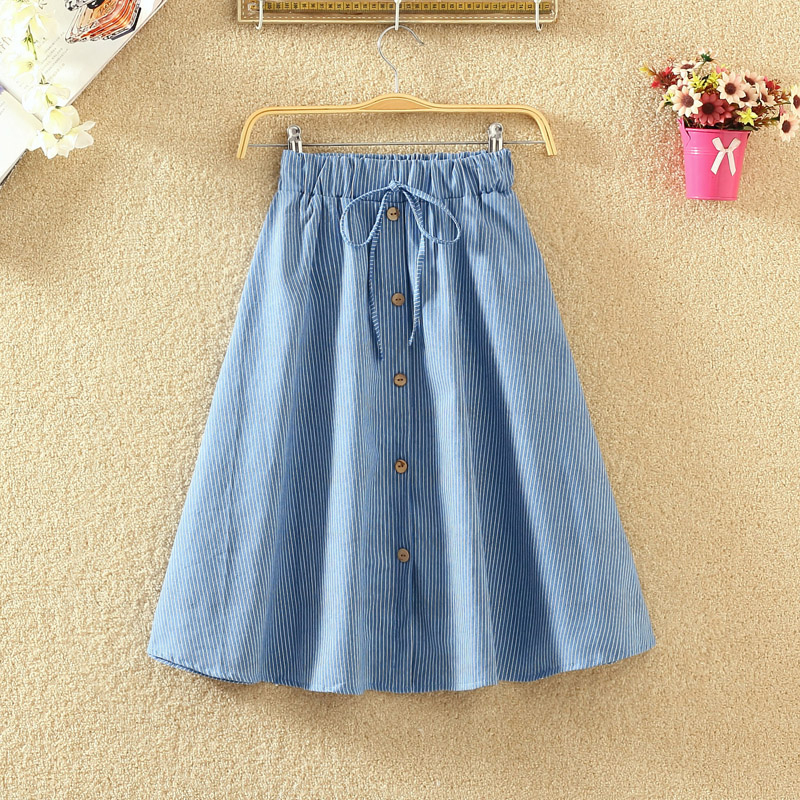 a2dff97c3cad3 ᐅ Low price for denim skirts to the knee and get free shipping ...