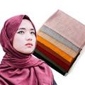 Annda marca bolha chiffon flor printe xale das mulheres headband da flor hijab muçulmano tampas cachecol/scarveshead revestimentos