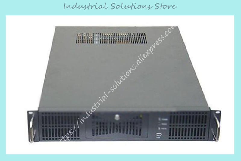 где купить New 2U Industrial Computer Case 2U Server Computer Case 2U530 6 Hard Drive дешево