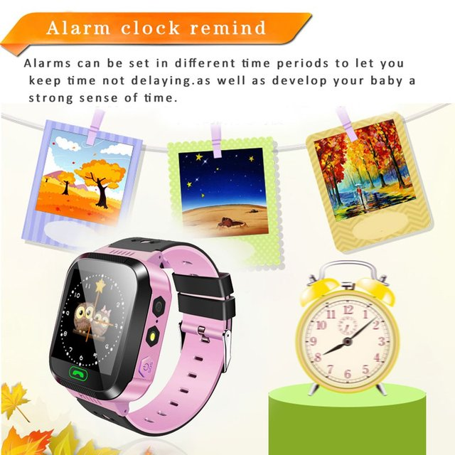 Y03 Smart Watch Multifunction Children Digital Wristwatch Alarm Baby Watch With Remote Monitoring Birthday Gifts For Kids 2