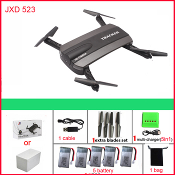 JXD523 Tracker Foldable Mini Rc Drone with Wifi FPV 720P HD Camera Altitude Hold&Headless jxd 523 RC Quadcopter VS H37