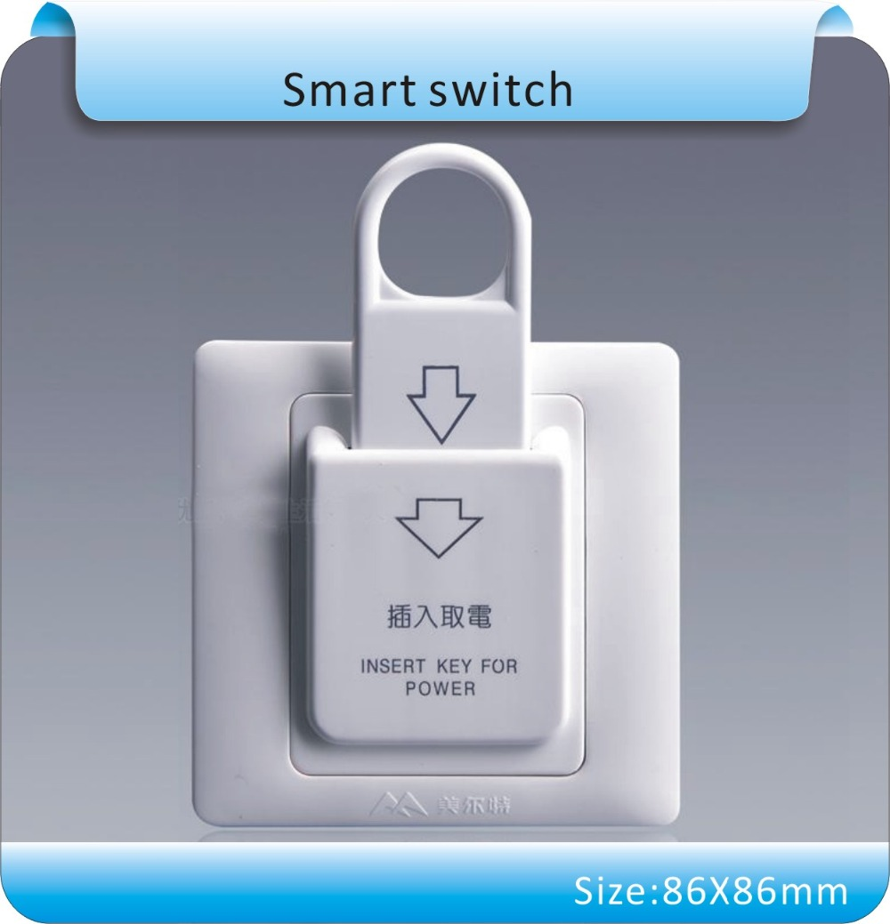 цены 10pcs 86X86mm High Grade Hotel Magnetic Card Switch 220V/25A ,energy saving switch,Insert Key for power,without time delay
