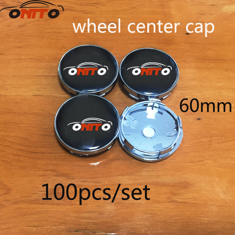 Hot selling 60mm 100pcs Wheel Center Caps Emblem Badge 2.36inch logo emblem for bmw F10 F20 F30 F35 F31 F34 F32 F33 F18