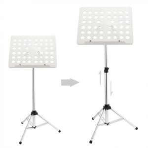Image 2 - Flanger Folding Lightweight Music Stand ABS Sheet Aluminum Alloy Tripod Stand Holder Height Adjustable with Carrying Cotton Bag