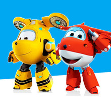 6″ ABS Super Wings Transformation Toys