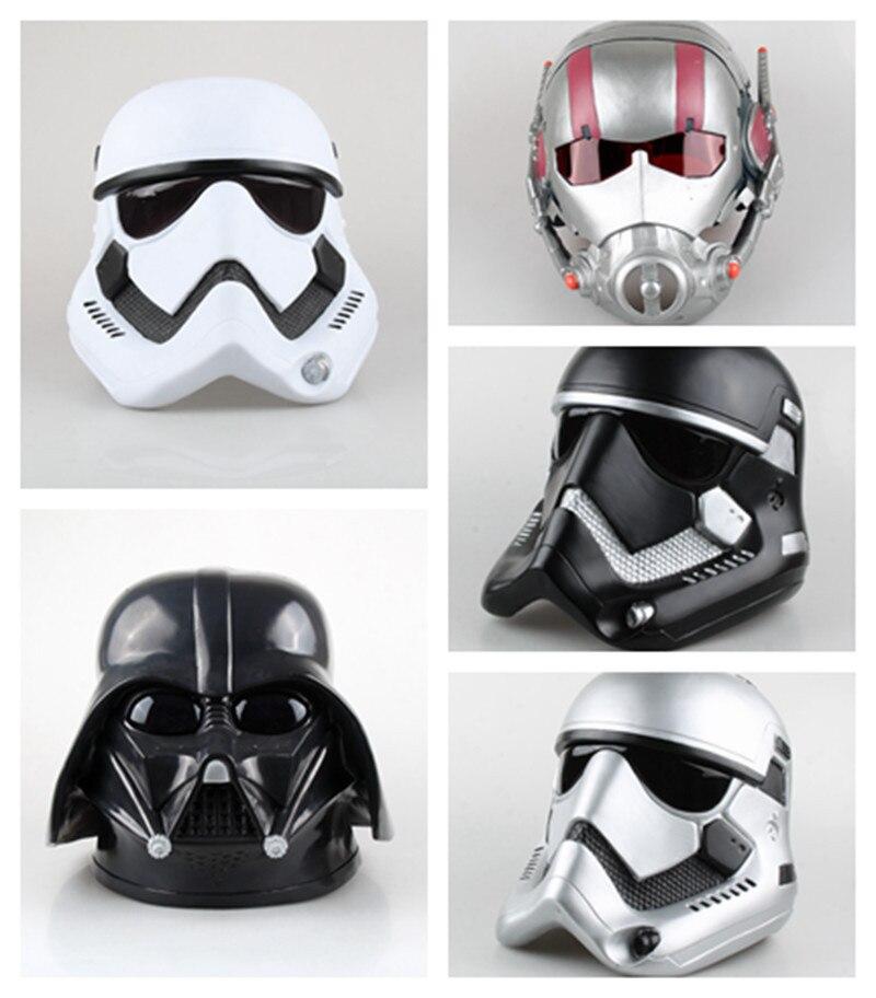 TOP Cosplay 1:1 Star Wars Darth Vader et STORM TROOPER et Ant-Homme casque masque simulation modèle jouet Costume partie prop enfants cadeau