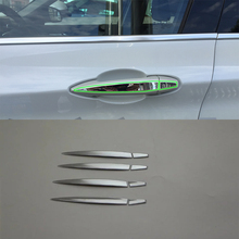 Car Accessories Exterior Decoration ABS Chrome LHD Side Door Handle Cover For BMW X1 2016 Car-styling