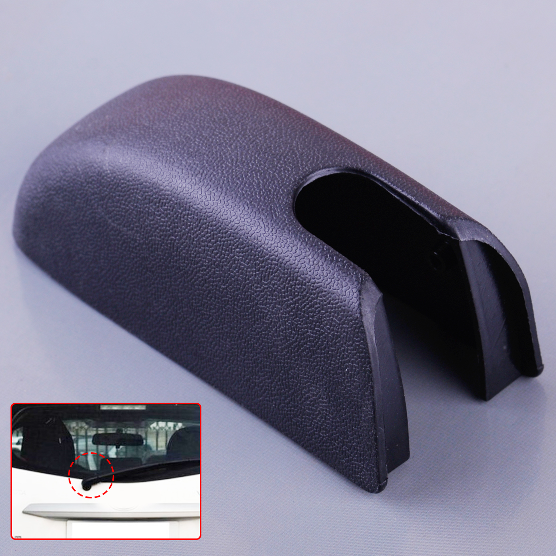 DWCX Car Rear Wiper Arm Cover Cap 85292-35010 Fit for Toyota 4Runner Highlander Lexus GX470