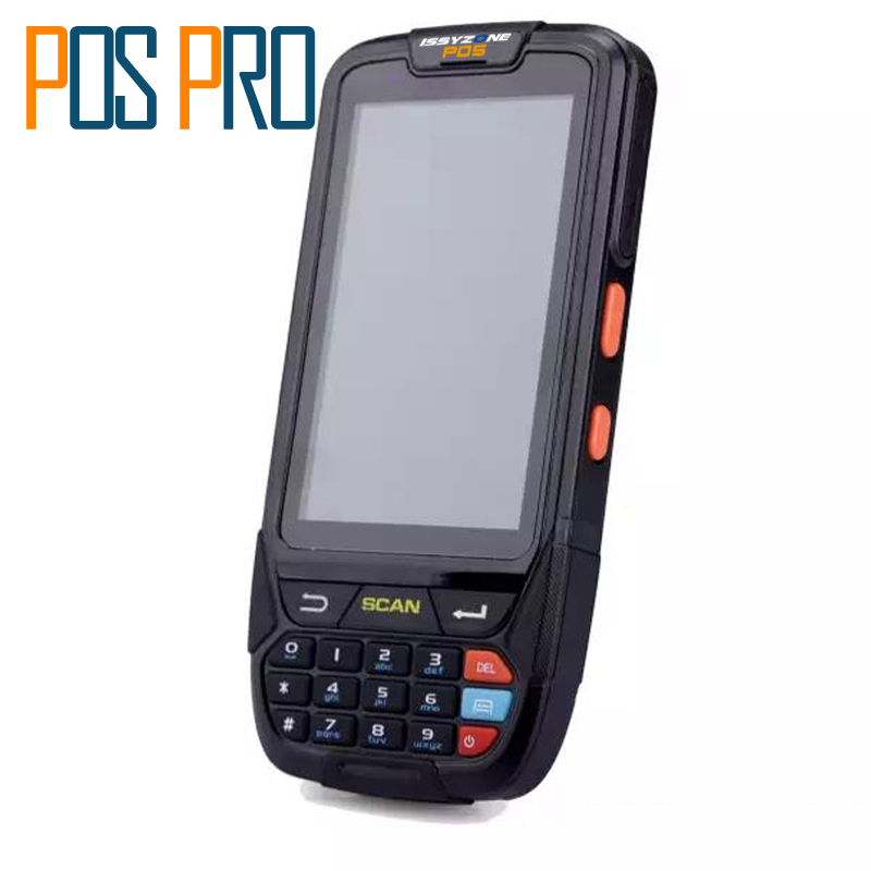 IPDA018 Free ship!!! 2D handheld pda terminal Support WI-FI bt 4g Waterproof Mini Barcode Scanner For Android Tablet Pc 2D