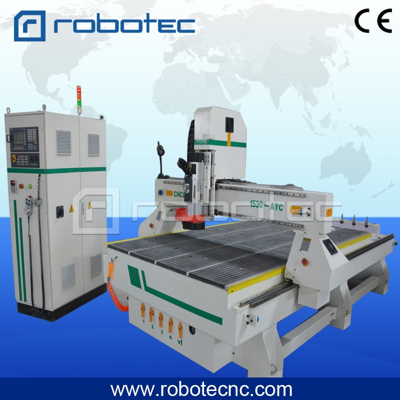 Disc Automatic Tool Change Wood Cnc Router 1325 Work Size Make Wood Door In ATC Wood Cnc Machine Router