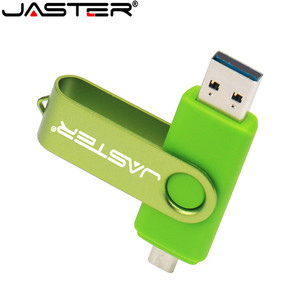 Image 4 - JASTER Nuiflash OTG 2.0 USB flash drive 128gb pen drive 64gb 32gb 16gb pendrive External Storage  Double Use Stick High quality