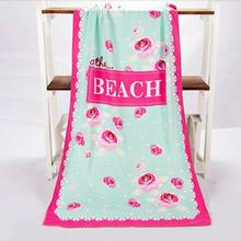 Colorful  Absorbent Microfiber Beach Towels Creative Design Print Quick Dry Bath Towel 70x140cm