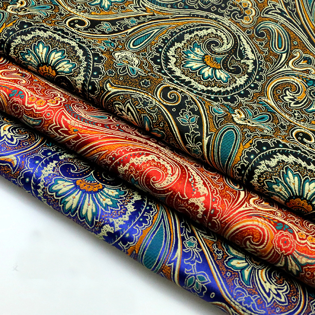 100cmx75cm European Style High Precision Jacquard Tapestry Satin Jacquard  Brocade Fabric Upholstery Fabric For Patchwork