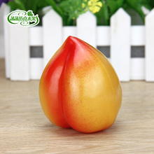 Plastic fruit toy artificial fruits and vegetables props peach model
