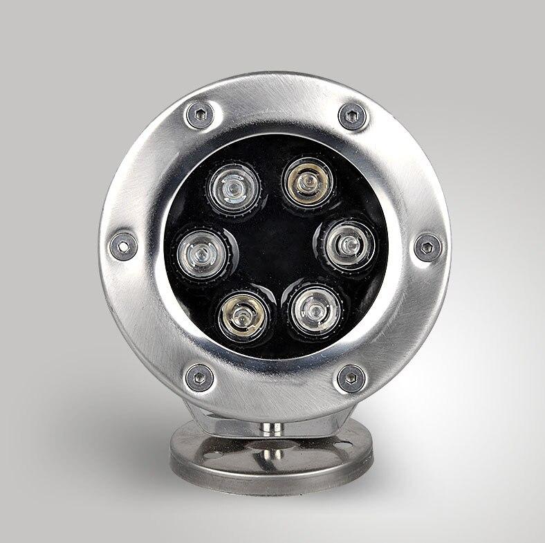 DC12V 6W LED Underwater Lights LED Flood Light Waterproof Lamp Spotlight Lighting dc12v 6w led underwater lights led flood light waterproof lamp spotlight lighting