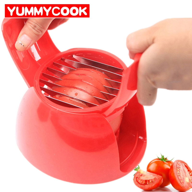 Tomato Splitters Fruit Vegetable Tool Onion Corers Peeler Shredder Slicer Cutter Kitchen Gadget Accessories Supplies Products