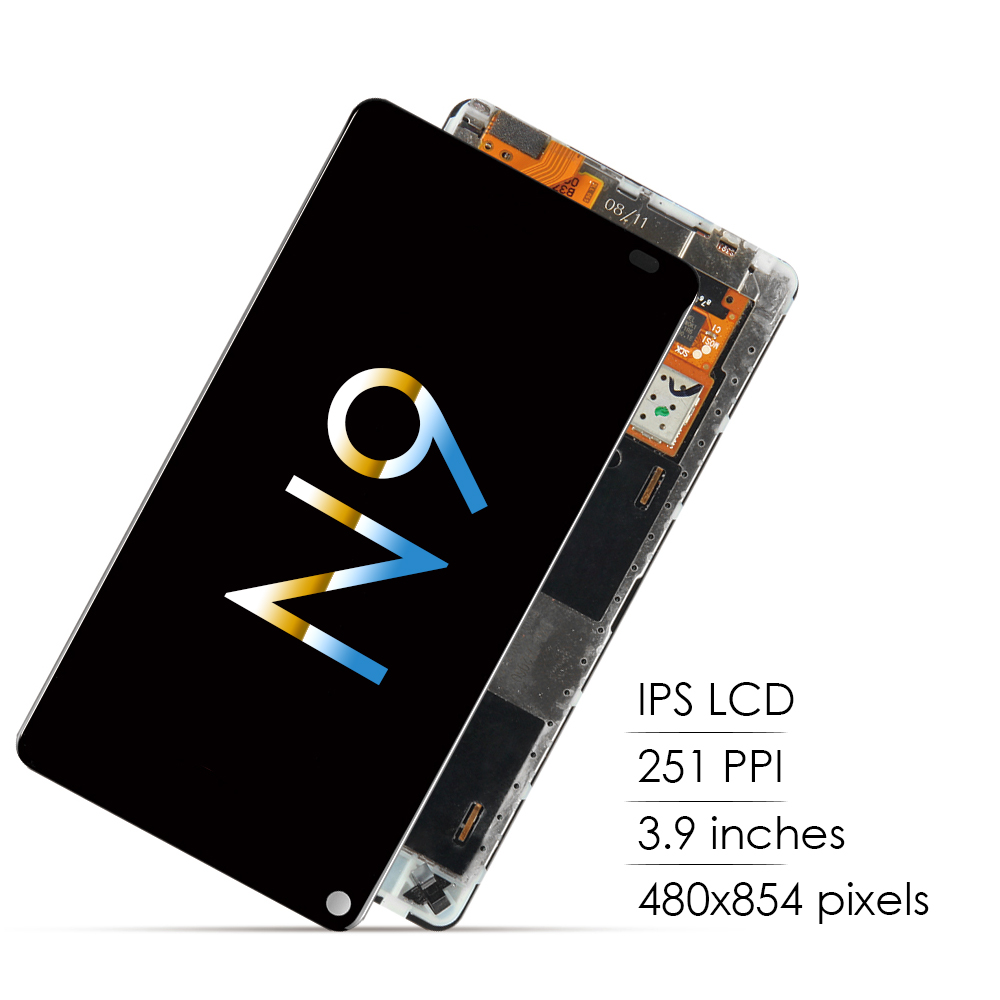 Original AMOLED 3.9 LCD For NOKIA N9 LCD Touch Screen with Frame Digitizer Assembly For NOKIA N9 LCD Display Replacement Original AMOLED 3.9 LCD For NOKIA N9 LCD Touch Screen with Frame Digitizer Assembly For NOKIA N9 LCD Display Replacement