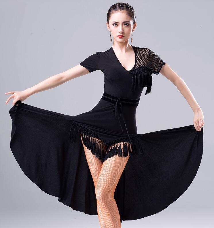 Robe de danse latine de haute qualité femmes jupe latine professionnelle danse Samba robes Salsa latine livraison gratuite
