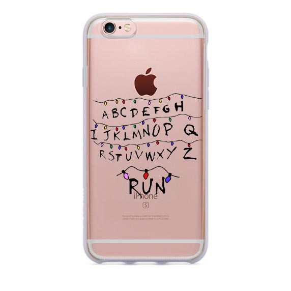 finest selection 9bdd2 311f6 Stranger Things Christmas Lights Hard plastic transparent hardcover Cover  Cases For iphone SE 5 5S 6 6s 6plus 7 7Plus Cases on Aliexpress.com | ...