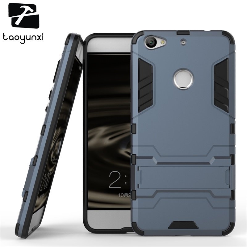 TAOYUNXI Hybrid Kickstand Phone Case Cover For Letv 1S Le 1S One S LeTV LeEco 1S X500 X501 5.5 Inch Case Military Armor Housing