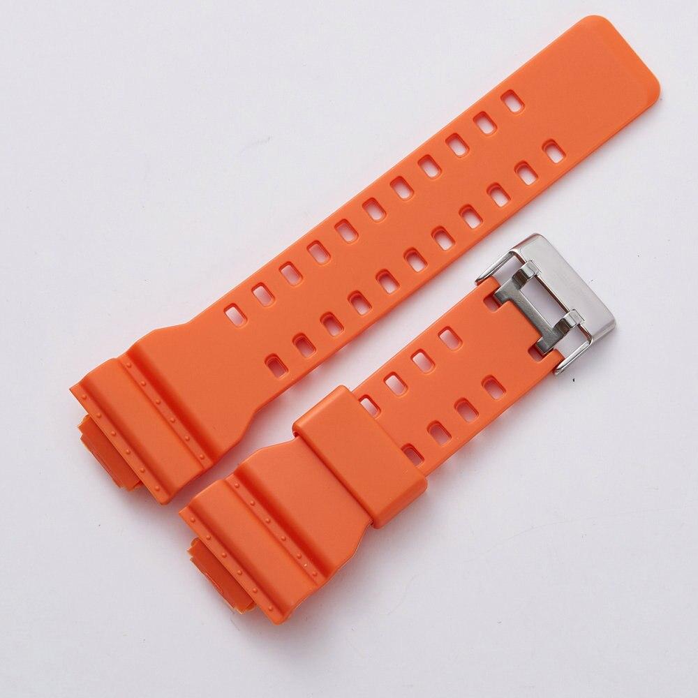 f0a7385206c Pulseiras de Relógio cinta substituição pulseira de desporto Fecho   Pin  Buckle