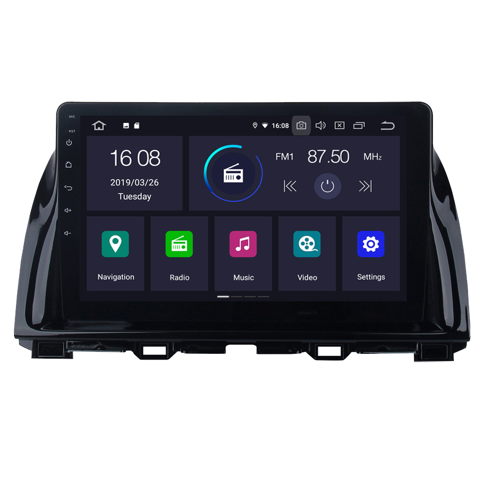 For <font><b>Mazda</b></font> <font><b>CX5</b></font> CX-5 Android 9.0 Auto Car Radio Stereo GPS <font><b>Navigation</b></font> Navi Media Multimedia System PhoneLink image