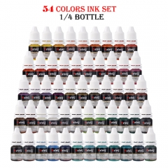 Tattoo New style 54 Colors Tattoo Ink Set 8ml/Bottle