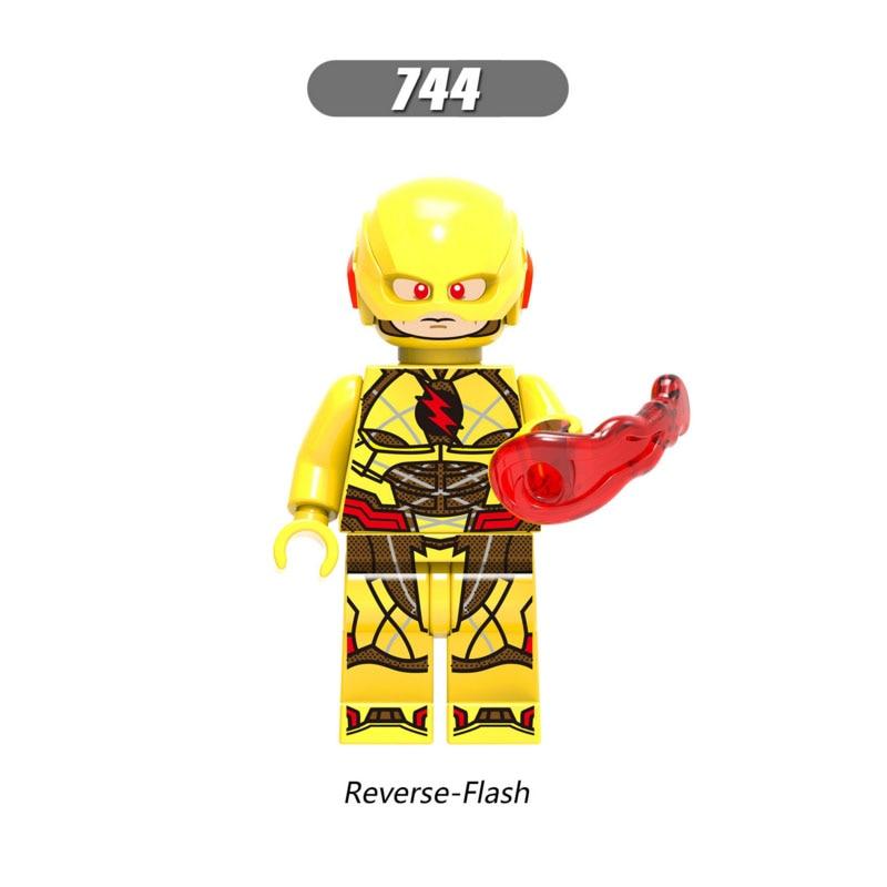 DC Super Hero Legoingly Figure Katana Aquaman Power Girl Booster Gold Parademon Reverse Flash Green Lantern Building Blocks Toy