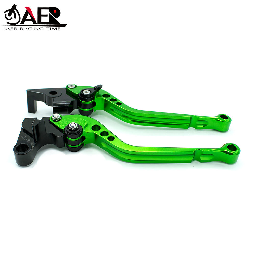 Image 5 - JEAR CNC Long Motorcycle Brake Clutch Levers For Kawasaki VERSYS 1000 Z1000 ZX10R ZX9R ZX12R ZZR600 ZX6R ZX636R ZX6RR-in Levers, Ropes & Cables from Automobiles & Motorcycles