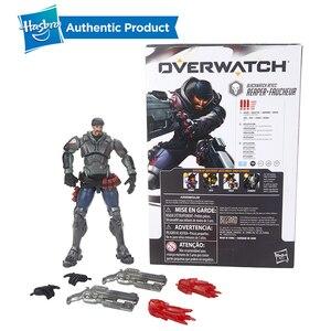 Image 5 - Hasbro Overwatch Ultimates Tracer Sombra Lucio Blackwatch Reyes 6 Cal kolekcjonerskie figurki gorąca sprzedaż popularna na rynku