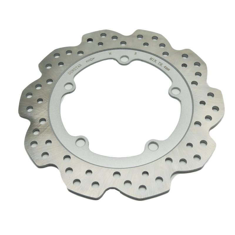 For Honda NC700X NC700S NC750X NC750S CTX700 NM4 Vultus Brake Disks Motorcycle Accessories Rear Wheel Brake Disc Rotor OD 240mm kemimoto for honda nc700x nc700s nc750x nc750s ctx700 nm4 vultus motorcycle accessories rear wheel brake rotor disc od 240mm