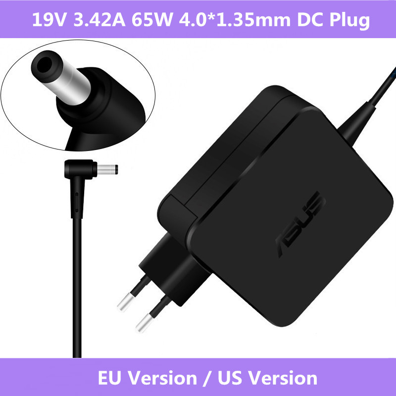 ASUS Laptop Adapter 19V 3.42A 65W 4.0*1.35mm ADP-65DW A AC Power Charger For Asus UX21 UX31A UX32A UX301 U38N UX42VS UX50 UX52VS