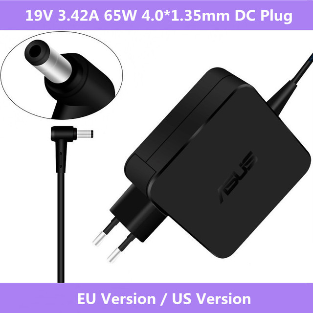ASUS Laptop Adapter 19V 3.42A 65W 4.0*1.35mm ADP 65DW A AC Power Charger For asus UX21 UX31A UX32A UX301 U38N UX42VS UX50 UX52VS