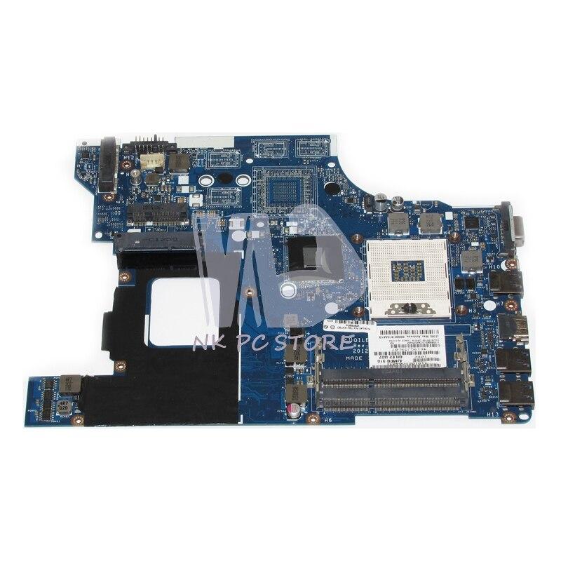 04W4014 Main Board For Lenovo E530 Laptop Motherboard System Board QILE2 LA-8133P DDR3 100%test big togo main circuit board motherboard pcb repair parts for nikon d610 slr