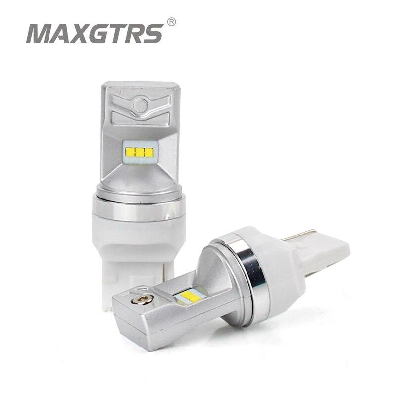Maxgtrs 2 шт. T20 W21W 7440 LED 6-SMD lumileds чип автомобилей LED Резервное копирование Обратный сигнал поворота DRL свет тормозные лампочки белый