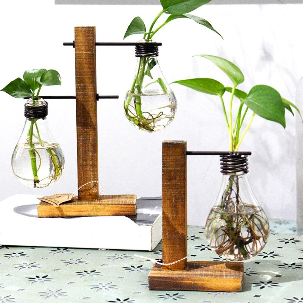 Vintage Style Glass Tabletop Decorative Vase