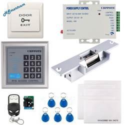 Для Hom видеодомофоны дверные звонки квартира телефон двери добавить RFID система доступа дистанционное управление Электрический Strik замок