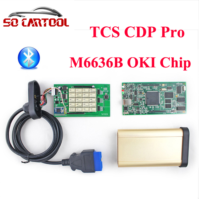 Подробнее о (5pcs/lot) 2014.R3 Software Quality A+ Golden Auto TCS CDP Pro With Bluetooth + M6636B OKI Chip For Cars/Trucks by DHL Shipping 5pcs lot 2015 1 2015 3 software tcs cdp pro with bluetooth for cars