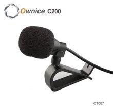 El Envío Gratuito! Mini Coche Micrófono de Corbata Lavalier de La Solapa Clip En El Micrófono Para Ownice DVD