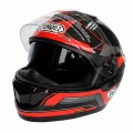 (1pc&6colors) New Arrival Shoei Brand GT-Air Double Lens Motorcycle Full Face Helmets Racing Motor Helmet Capacete Casque Casco