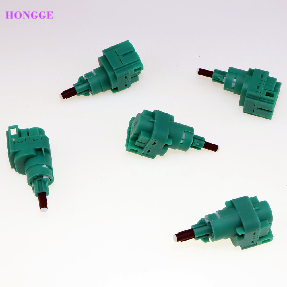 HONGGE 10 pcs 4 Pin Brake Stop Light Switch For VW Golf MK4 Jetta Bora Caddy